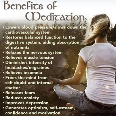 Benefits of meditation and motivation to practice yoga~