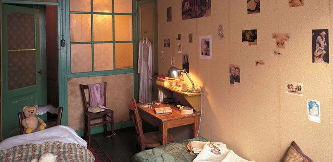 Casa di Anna Frank - La Cameretta