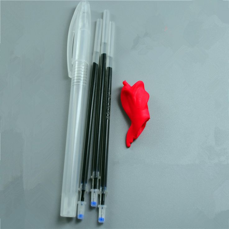 3pcs /lot Magic Joke Pen Invisible Slowly Disappear Ink within One hour ,Magic Gift FCI funny-april-fools-jokes ALLIKE