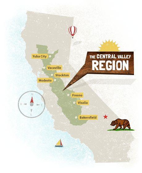 23 best california regions images on Pinterest California