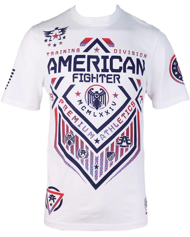 American Fighter AFFLICTION Men T-Shirt NORTH DAKOTA Biker Gym MMA UFC S-3XL $40 #Affliction #GraphicTee