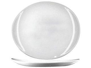 Plato Ovalado de Vidrio Templado Blanco Línea Steak Friends - Luminarc