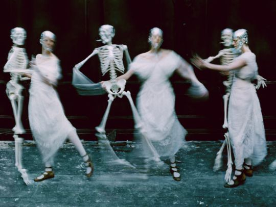 """Agyness Dean in """"Spooky"""" by Tim Walker for LOVE Magazine (Spring/Summer 2015)"""