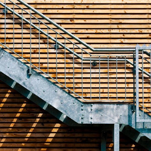 12 best gutter straps images on pinterest for Stair design code