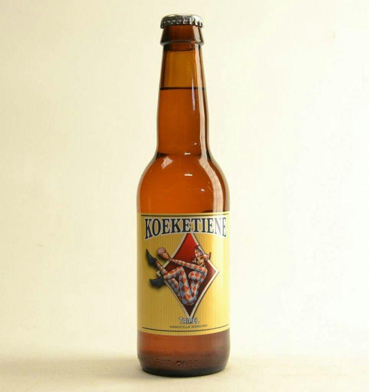 Koeketiene, brouwerij Maenhout. Tripel 8.5%,  7/10