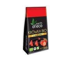 EARTH OF ECO bio krówki TRUSKAWKA 150g sklep ze zdrową żywnością, bio żywność,słodycze zdrowe i smaczne , biotojestto.pl