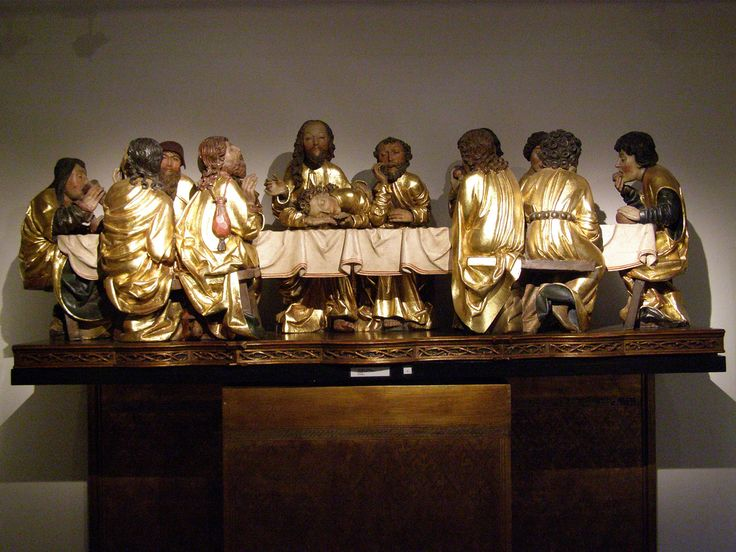 Master Paul of Levoča, The Last Supper, 1506-1514 | Flickr - Photo Sharing!