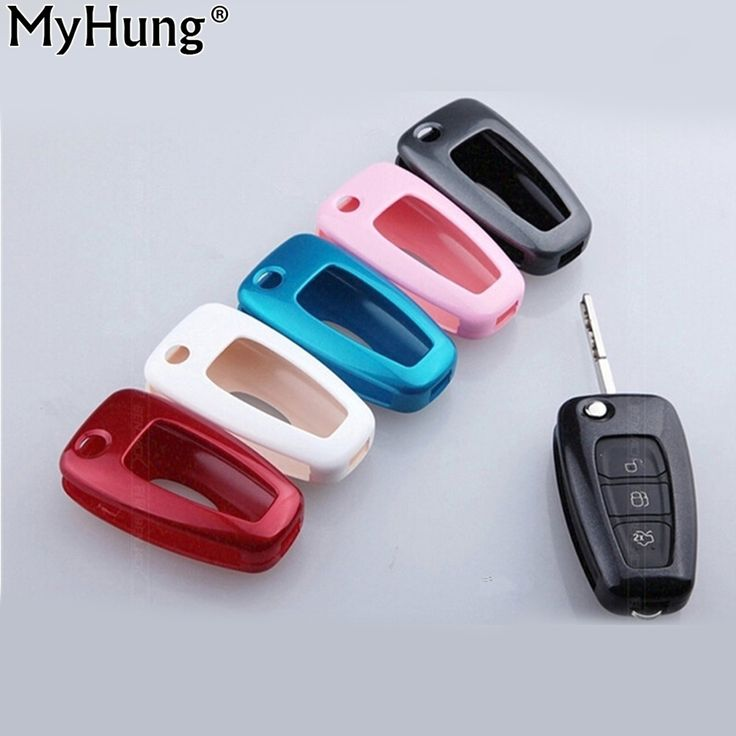 Car Key Case Cover Key Shell Car Keychain Keyring Covers For Ford Ecosport Focus 2 Fiesta Mondeo Kuga Escape Car Accessory 2pcs #Affiliate