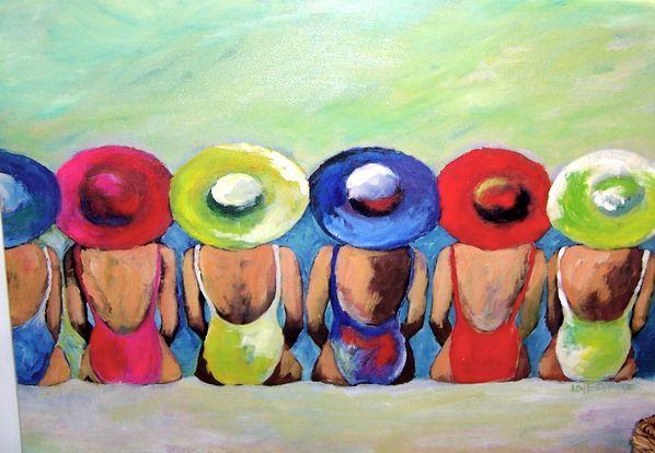 Beach Girls  by Leoma Lovegrove