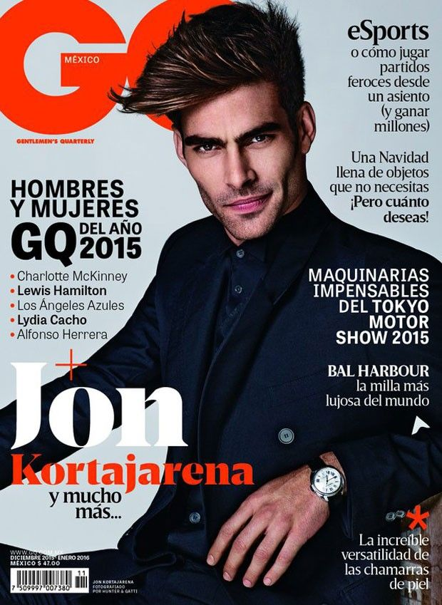 Supermodel Jon Kortajarena fronts GQ Mexico