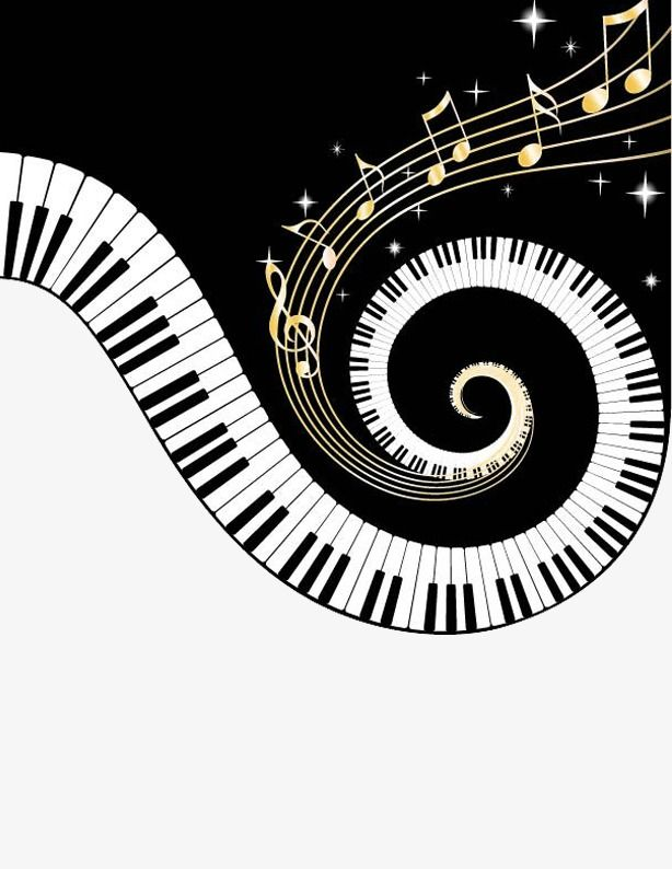 Music Music Clipart Music Material Png Transparent Clipart Image And Psd File For Free Download Piano Keys Music Notes Piano Art