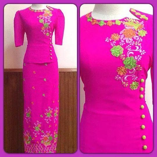 Mayanmar     Mayanmar dress