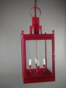 Brass Or Painted Red, This Hanging Lantern Will Speak To The Lighting  Designer In You. Add Spice To You Indoor Or Outdoor Space With This Lantern.
