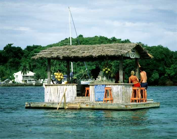 Floating Tiki Bar | Hawaii | Pinterest