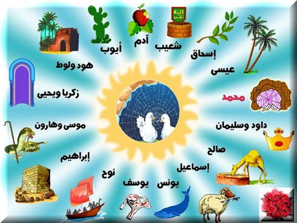 شجرة الأنبياء صور شجرة الرسل والانبياء بالتفصيل بالترتيب الزمنى وأعمارهم وأولادهم وقصصهم Islamic Kids Activities Muslim Kids Activities Islam For Kids