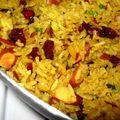 Riz pilaf et millet à l'indienne SANS GLUTEN