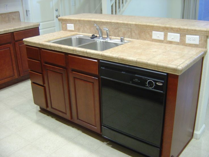 Kitchen island with sink and dishwasher a collection of - Kitchen island with cooktop and prep sink ...