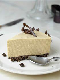 Cuuking! Recetas de cocina: Tarta fría de mousse de café. deliciosa y ¡Sin horno!