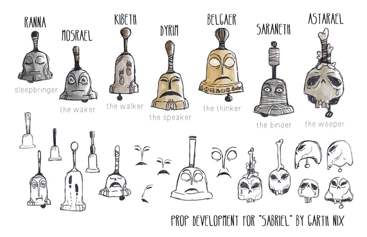 http://melanieatwater.blogspot.com.es/2013/03/2013-portfolio.html  Personified bells...how delightful!