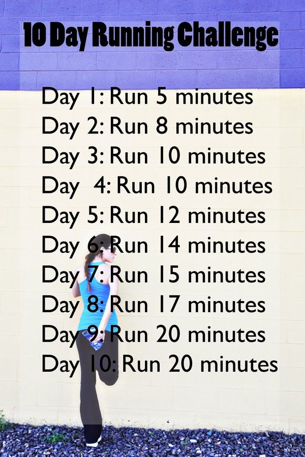 Fit Friday: 10 Day Running Challenge