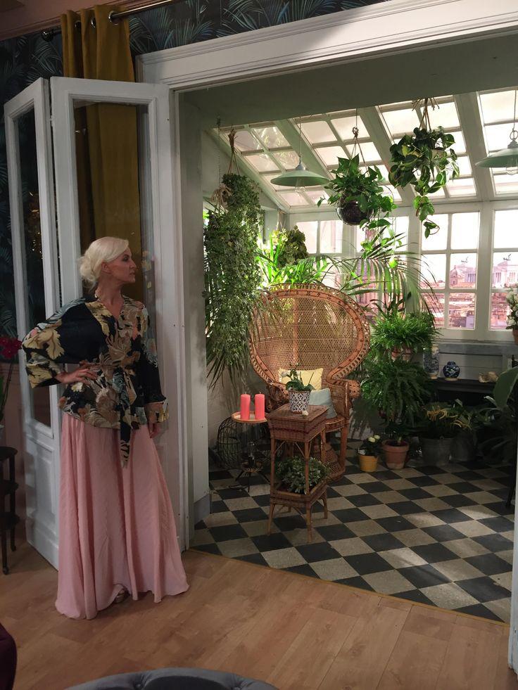 #Hanitapress #SS17 – Real Time #macometivesti  Carla Gozzi, la #stylecoach più famosa d'Italia,  indossa la collezione Hanita Spring Summer 2017 a #macometivesti