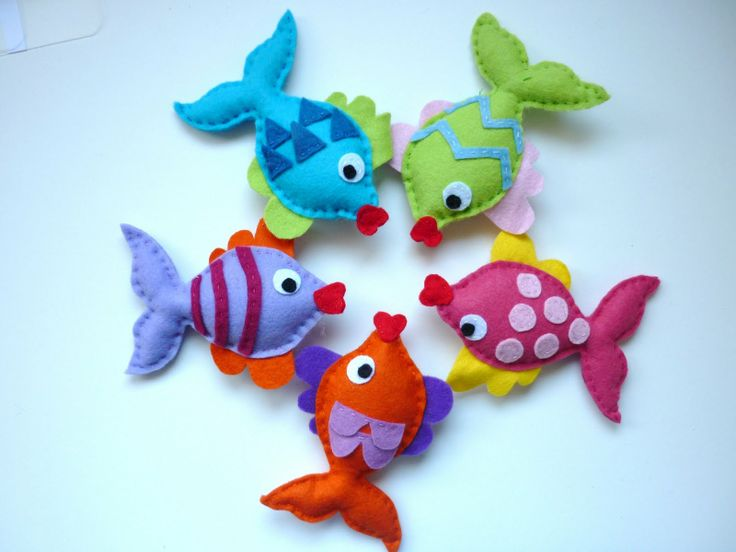 felt fish - might do the magnet fishing pole game