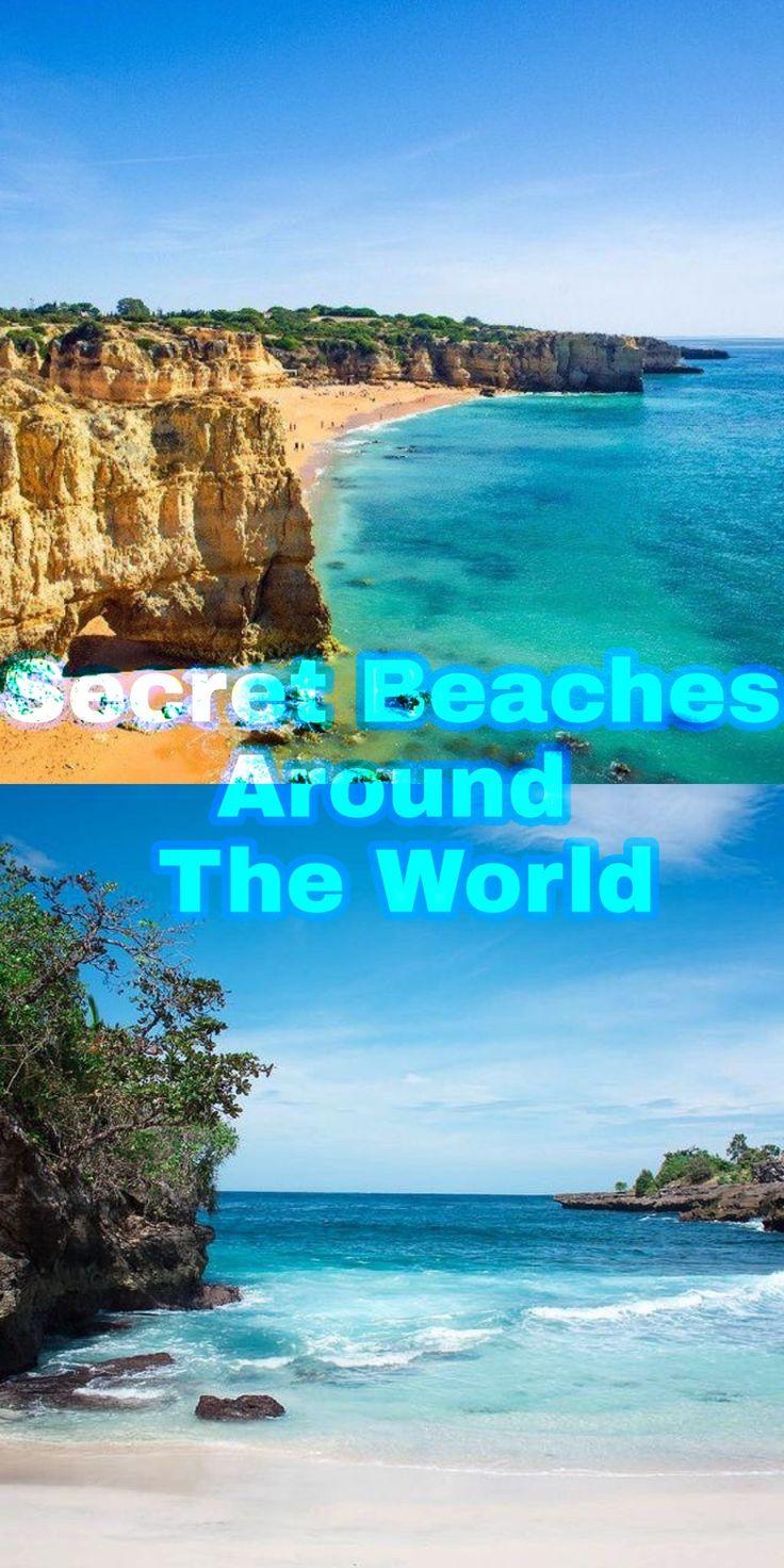Secret Beaches Around The World ❤❤🌏🌏