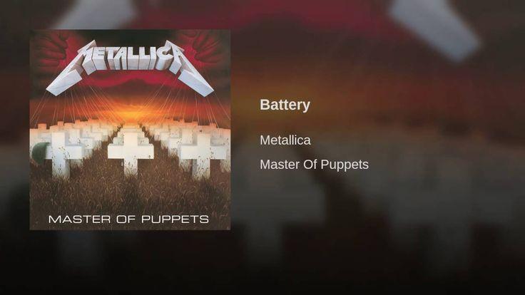 Battery - Metallica - 1986