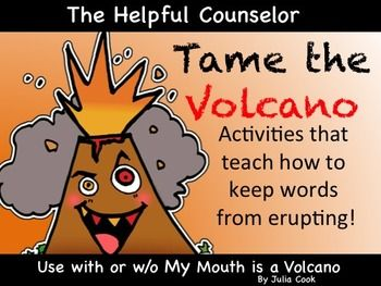 Interrupting Activities - use with or without My Mouth is a Volcano by Julia Cook