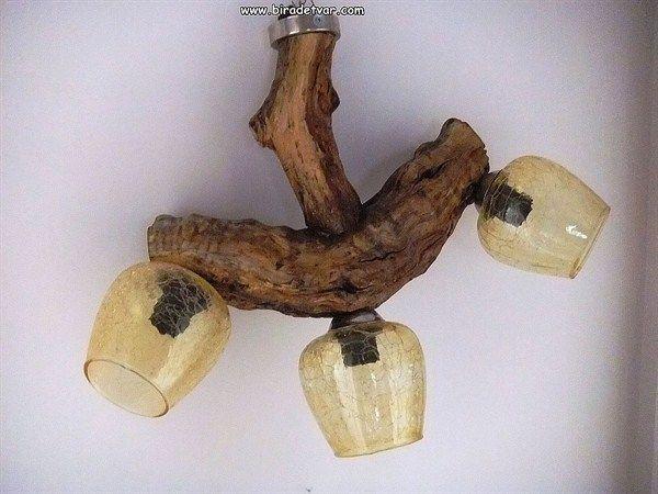 Zek-005 Wood Design Lamp - info@biradetvar.com