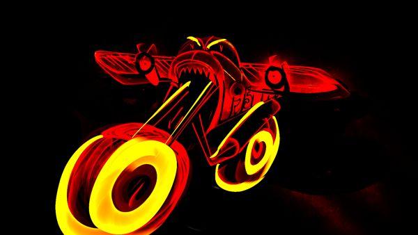 Devraj Baruah - Flying motorcycle. Look for motorcycle evolution on http://www.behance.net/gallery/Flying-Motorcycle/9530697