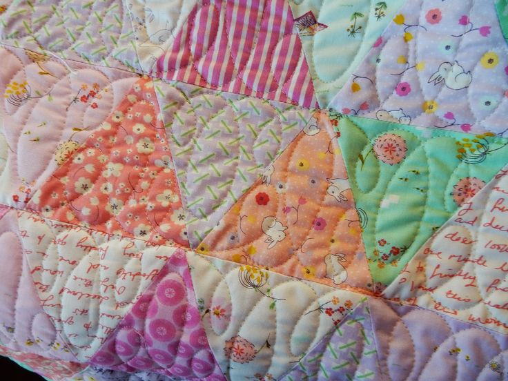 Baby Quilts This Is A Fun Idea For An All Over Pattern