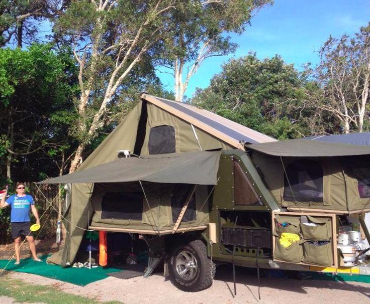 Amazing Altitude Campers Classic Off Road Review  Camper Trailer Australia