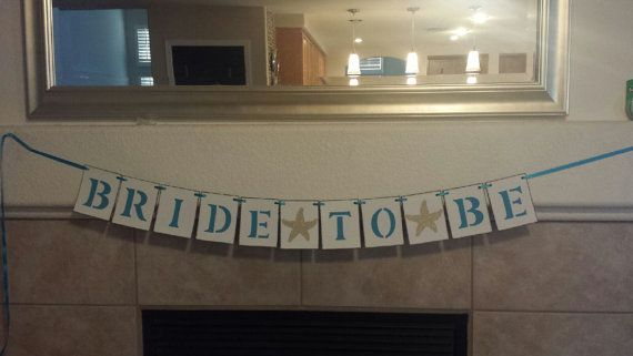 Nautical Bridal Shower Decoration/ Beach by SignsationalSayings, $20.00