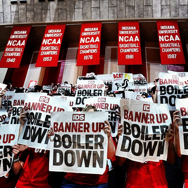 Assembly Hall by IU Hoosiers, via Flickr  #IUCollegeBasketball