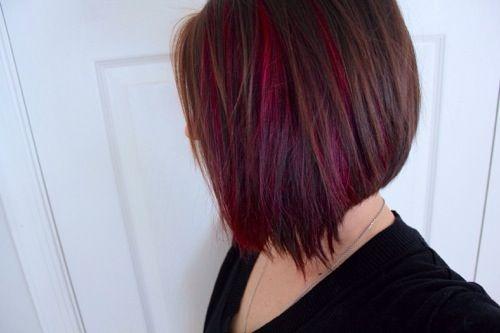 Peekaboo Hair Styles: Best 25+ Red Peekaboo Highlights Ideas On Pinterest