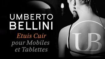 Umberto Bellini protège vos mobiles et tablettes avec élégance !