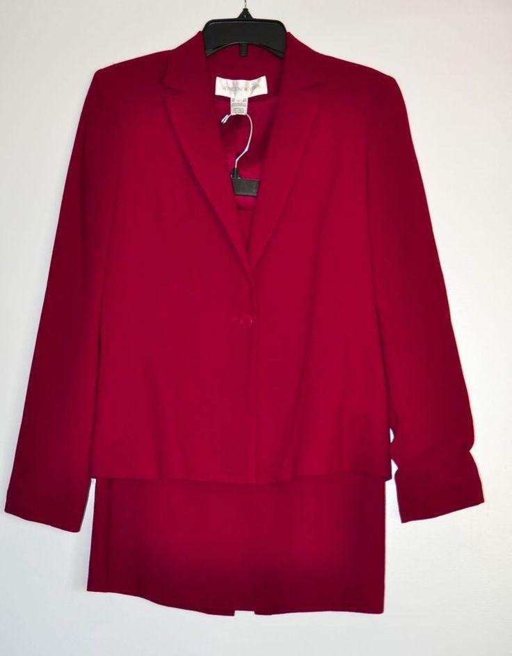 Jones New York Women's Suit Jacket and Skirt Formal Fully Lined 2 Pieces size 6 #JonesNewYork #WeartoWork