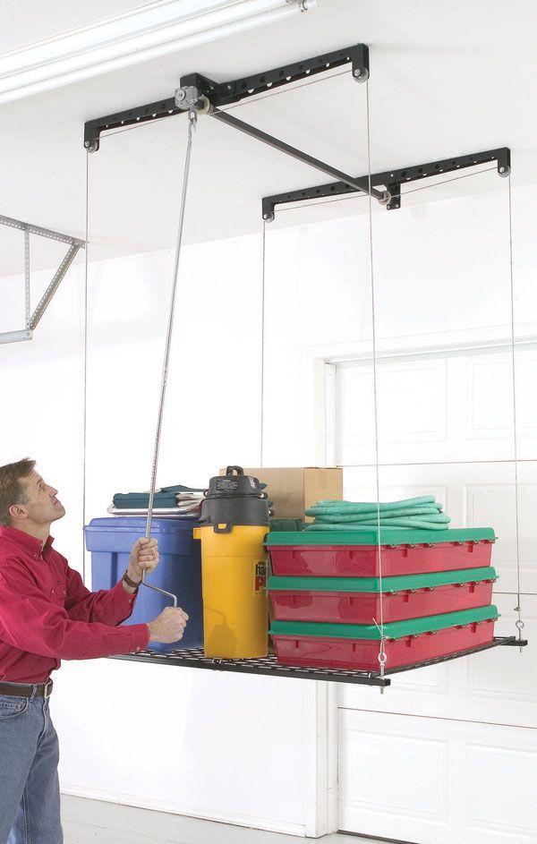Another Garage Ceiling Storage Option.