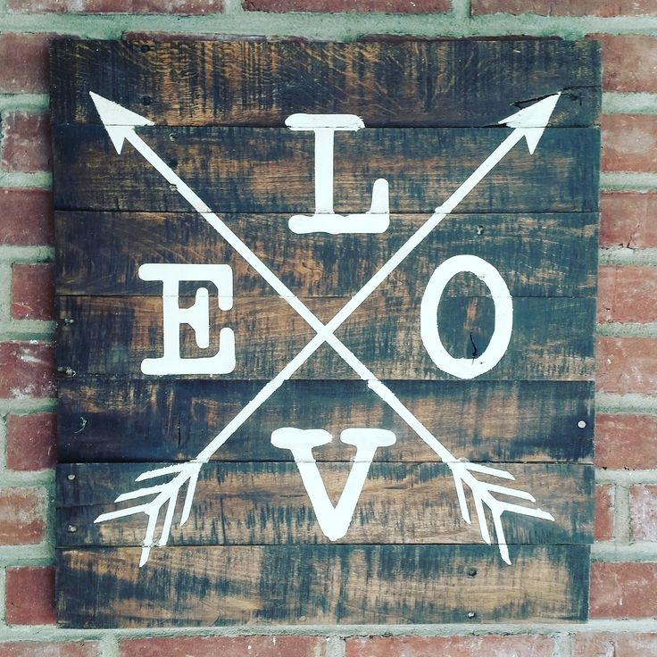 """This sign is approx. 20""""x22"""" of loveliness. Dark stain and cream lettering. Hanger included. All of my signs are made on reclaimed wood and look slightly different. Please allow 2 weeks for this custo"""