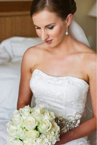 Wedding flowers by Brisbane Florist ~ Romantica Floral Design: Rowan and Tanya's Classic Wedding ~ The Marriott Hotel, Brisbane ~ white and red roses