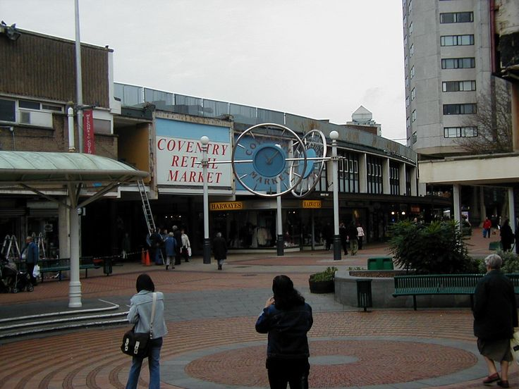 Coventry Retail Market, Shelton Square