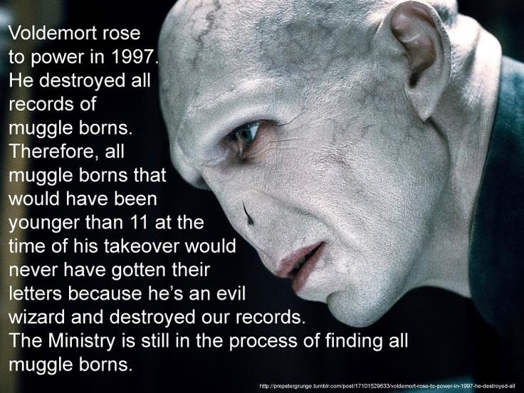 Explains why I never got a letter from Hogwarts.