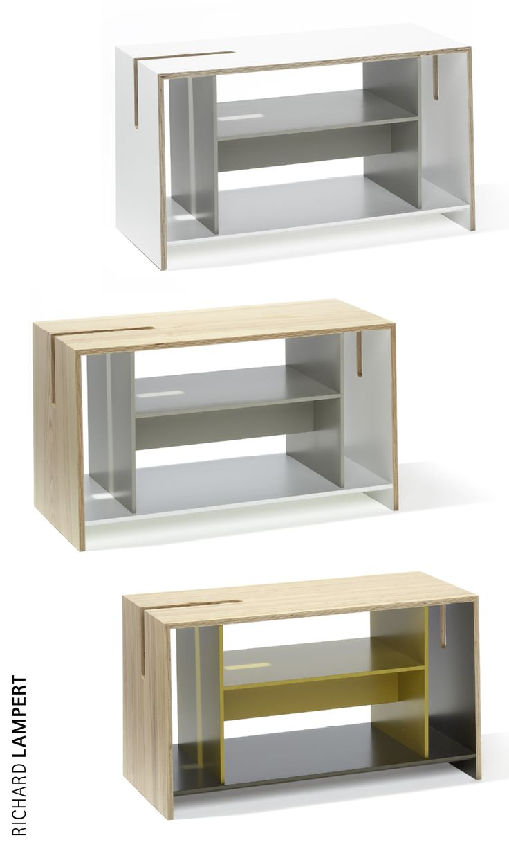 The architecture of order – ›UNIT‹ side furniture by Eric Degenhardt
