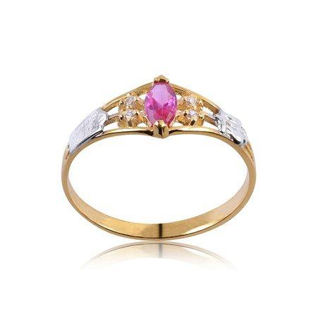 Anel de Formatura Ouro com Diamante 2 Pontos AG056