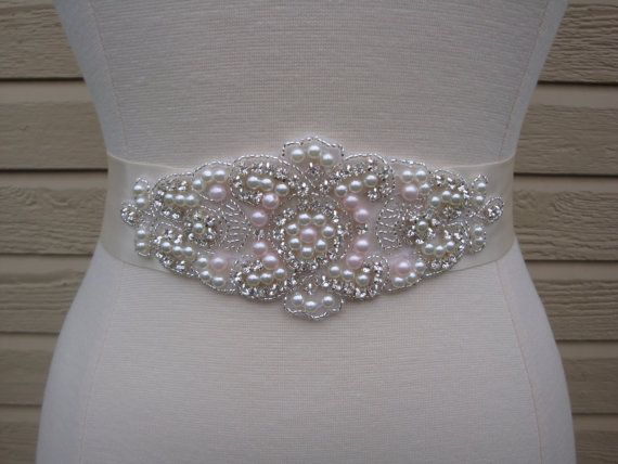 119 best images about wedding ideas on pinterest wedding for Pearl belt for wedding dress