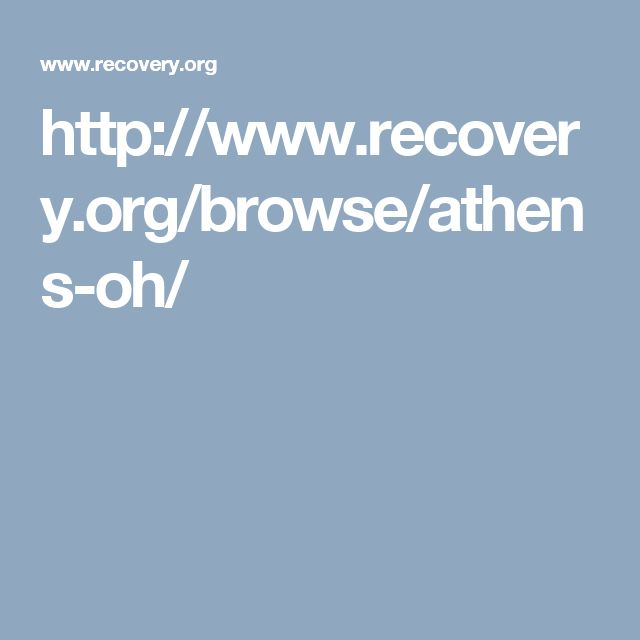 http://www.recovery.org/browse/athens-oh/