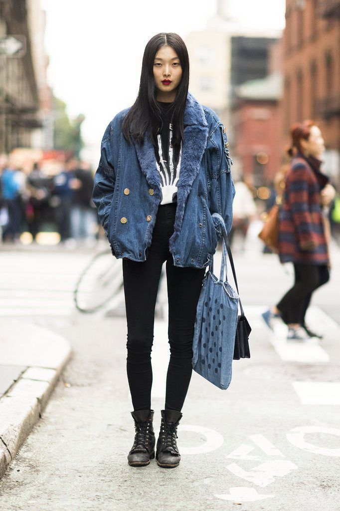 22 best Oversized boyfriend jeans jacket images on Pinterest ...