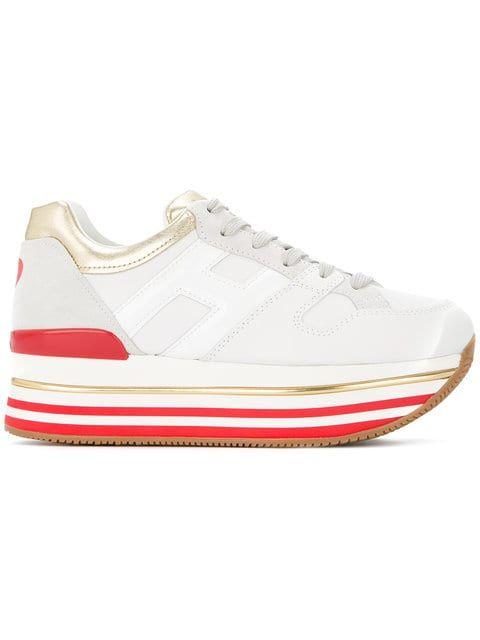 22a598989b8c0 Shop Hogan Maxi H222 sneakers