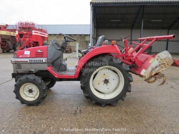 Shibaura 1x 4x4 compact tractor P185F